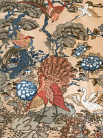 Jonelle Fabric 1988 'Forest Birds' Cotton FQ 69cm X 51cm Stunning Design