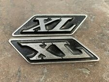 1970 Ford Galaxie Xl Right And Left Roof Pillar Emblems Pair