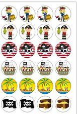 24 Precut Round Fast Sports Car Supercar Edible Wafer Paper Cupcake Toppers