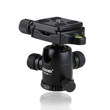 Mini Ball Head Tabletop Tripod Stand & Quick Release Plate For Canon Nikon