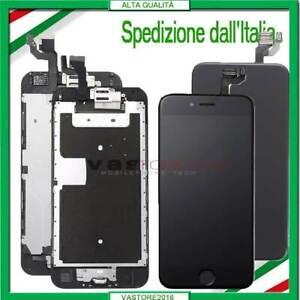 DISPLAY PER IPHONE 6 6 PLUS 6S ASSEMBLATO COMPLETO SCHERMO LCD+Button &Camera