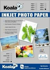 A3 Glossy RC (resin coated) Inkjet Photo Paper 260gsm (20 Sheets), Gloss