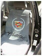 1 - Seat Armour Seat Protector Cover with Old Cadillac Crest Logo