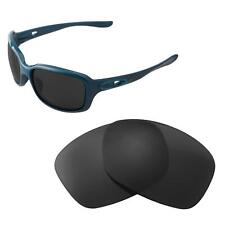 Walleva Polarized Black Replacement Lenses For Oakley Urgency Sunglasses