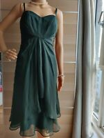 NEW COAST COAST FITTED DRESS  GREEN SIZE UK 10 US 6