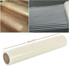 2 x 25M Carpet Floor Protector Self Adhesive Clear Roll Protection Cover Film