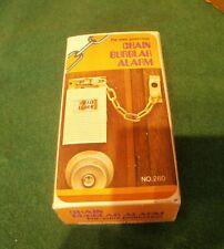 Vintage Chain Burglar Alarm - NEW in Box