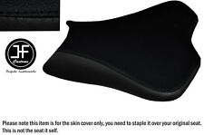 DESIGN 2 BLACK VINYL CUSTOM FITS KAWASAKI ZX10R 1000 08-10 FRONT SEAT COVER ONLY