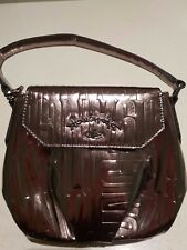 Brand New Authentic Vivienne Westwood Crossbody bag in metal colour