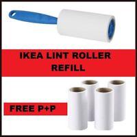 IKEA BASTIS Blue Lint Dust Fluff Roller Clothes Pet Hair Remover + Refill UK