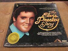 Elvis - The Elvis Presley Story 5 LP Box Set RCA DML5-0263 VG+