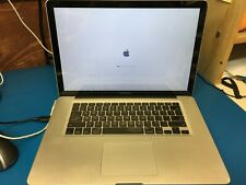 """Apple MacBook Pro 15"""" mid 2012 i7 A1286 unibody for parts"""