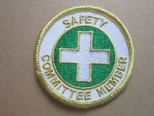 Safety Committee Member Cloth Patch Badge (L2K)