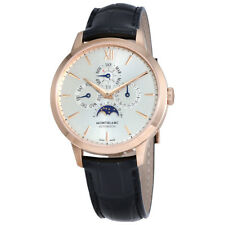 MontBlanc Heritage Automatic Silver Dial Mens Watch 110714