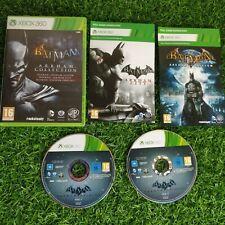 Batman Arkham Colección-Microsoft Xbox 360 Juego