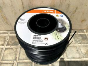 Filo Stihl per decespugliatore quadrato diametro 3,3 mm bobina rotolo 137 metri