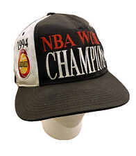 1994 Starter Snapback Cap Hat Houston Rockets NBA World Champions Embroidered