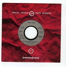 45 RPM SP PROMO IGGY POP LIVIN ON THE EDGE OF THE NIGHT