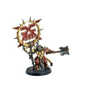 BLADES OF KHORNE Bloodsecrator #1 WELL PAINTED Warhammer Sigmar Games Workshop