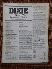 Dixie par spi de stratégie et tactiques (s&t) magazine Spi
