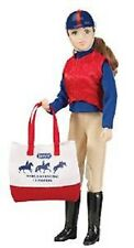 """Breyer Eventing Rider Sarah 8"""" Doll Limited Edition Traditional 1:9 Scale No 547"""