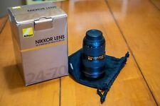 Nikon NIKKOR 24- 70mm f/2.8 Lens G ED