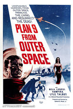 "Plan 9 From Outer Space - Movie Poster - (24""x36"") - Free S/H"