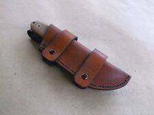 ESEE 3 ONTARIO RAT 3 CUSTOM LEATHER SHEATH (SHEATH ONLY)