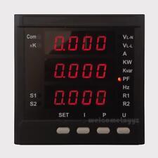 3 Phase AC Voltage Amp Hz Generator Digital Multi-functional Communication Meter