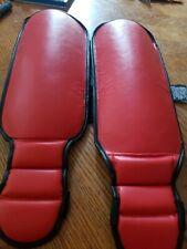 Ring to Cage Kids In Step Grappling Shin Guards Red Xl Mma Muay Thai Kickboxing