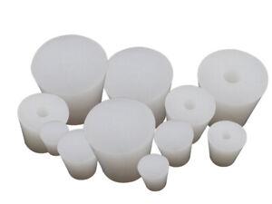 Premium High-Temperature Tapered Translucent Silicone Rubber Bungs SB004