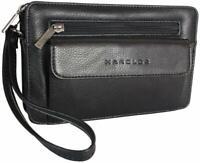 Men's Genuine Leather Men's Handbag Wrist Bag Travel Small Document Case