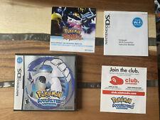 Pokemon Soul Silver Version Nintendo DS OEM case (No game, Manual)
