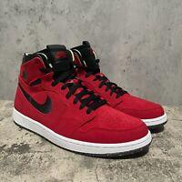 Nike Jordan 1 High Zoom Air CMFT Red Suede Men's Size 12 [CT0978-600]