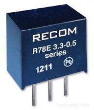 R-78e3.3 -0,5 - Recom puissance-Convertisseur DC / DC, 0,5 A, 3,3 V, 1,65 w