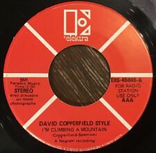 David Copperfield Style - I'm Climbing A Mountain / Can The Leopard Change 45