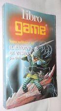 IL RITORNO DI VASHNA Lupo solitario 16 Joe Dever Edizioni EL Libro game 1999 di