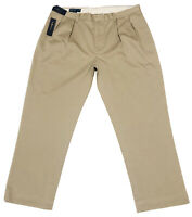 Polo Ralph Lauren Classic fit Pleated Chinos in Hudson Tan