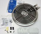 "WB30X354 GE Range Electric Calrod Unit Burner Eye Large 8"" PS244048 AP2634795 photo"