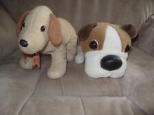 2 Adorable Soft Toy Dogs
