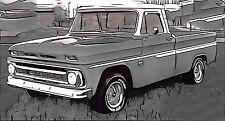 AUSVERKAUFT Chevy Chevrolet GMC C- / K- Series Pickup Truck 1964-66 Frontscheibe