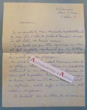 L.A.S 1938 Famille de Gailhard Bancel - ALLEX - Les RAMIERES (Drôme) - Lettre