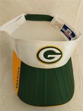 New-Flawed Green Bay Packers Adult Mens OSFA Reebok White Green Golf Visor Hat