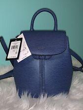 DKNY Lex Leather Backpack️ Blue R91kra61 Small