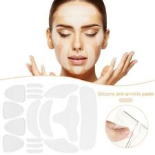 16pcs Reusable Anti Ageing Wrinkle Forehead Eye Face Pad Silicone Patch Skin