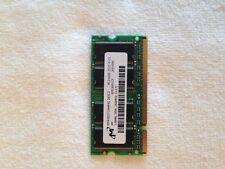 (1)Micron 128MB DDR PC2100S-2533-1-Z  MT4VDDT1664HG-265C2