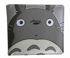 Studio Ghibli Totoro PU Leather Bifold Wallet Credit Card Holder Anime Purse Bag