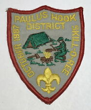 1987 Skill-o-ree PAtch Paulus Hook New Jersey BC8
