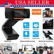 Usb Hd Webcam Auto Focusing Usb Web Camera W/ Microphone For Pc Laptop Desktop