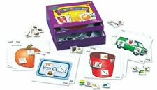 New Sealed Lauri Toys Phonics Center Kit-Word Families Ages 4 and Up